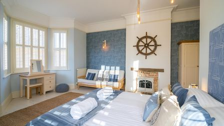 The Nelson, one of the rooms in Belle Vue Guest House in Denver. Picture: Martyn Wardle