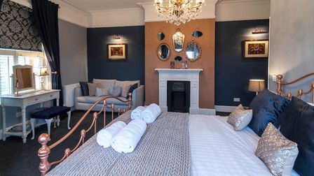 The Ely, one of the rooms in the Belle Vue Guest House in Denver. Picture: Martyn Wardle