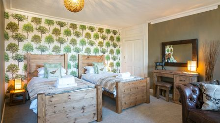 The Whin Common , one of the rooms in Belle Vue Guest House in Denver. Picture: Martyn Wardle
