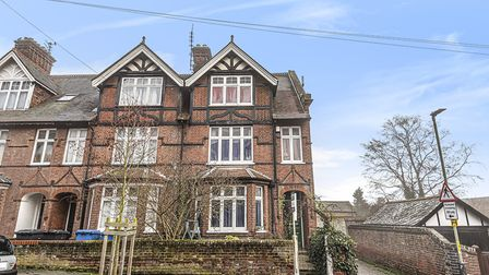 This six-bedroom home on College Road in Norwich is on the market for £600,000. Picture: Sowerbys