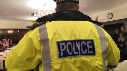 People volunteered to be arrested at an Attleborough Town Council meeting, which had barred the publ