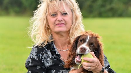 Sharon Tidnam at Low Farm Boarding Kennels. Picture: Jamie Honeywood