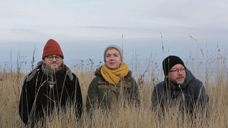 Norfolk based electronic duo Broads team up with Milly Hurst to release Norfolk inspired album. Pict