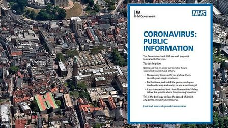 A coronavirus health campaign has been launched across the nation as the government works to prevent
