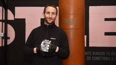 Hustle Boxing Classes Bobby Harrison owner and trainer offering specialised boxing classes for wome