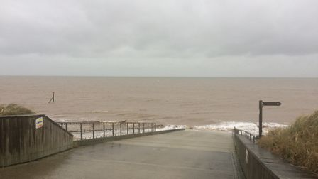 Emergency services have been searching for missing man off the coast around Happisburgh. Picture: Da