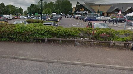 Plans to install a new car windscreen repair pod on part of the car park at the Morrisons supermarke