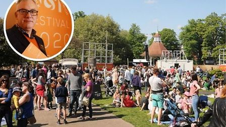 Norfolk and Norwich Festival artistic director Daniel Brine announced a temporary new name for Chape