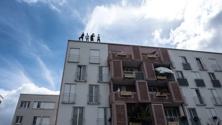 The Welcome Weekend will include freerunning across Norwich rooftops by La Fabrique Royale Credit: A