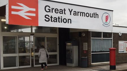 A train guard was assaulted at Great Yarmouth station. Picture: Jacob Massey