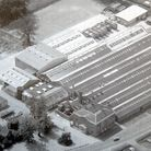 Aerial view of Metamec production plant at Dereham. Photo : Archant Library