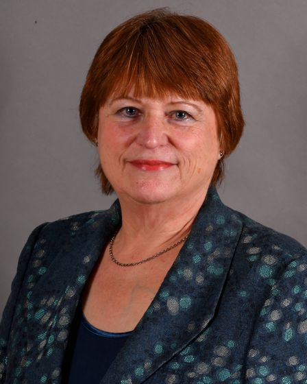 Margaret Dewsbury, Norfolk County Council cabinet member for communities and partnerships. Pic: Norf
