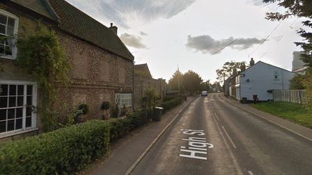 Fincham High Street, near where the attack took place Picture: Google