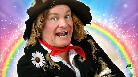 Comedian Bobby Davro stars in The Wizard of Oz Credit: Supplied by King's Lynn Corn Exchange