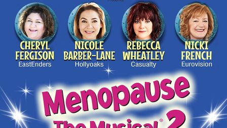 Menopause the Musical 2 is set five years after the first and features an all-star cast Credit: Supp