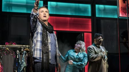 Shane Richie, best known for playing Alfie Moon in EastEnders, reprises his West End role in the UK