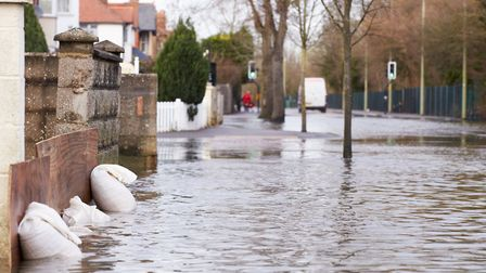 The Environment Agency has warned that flooding with become more common in future. Picture: Getty Im