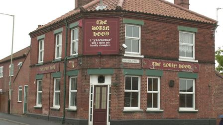 The Robin Hood Pub, on Mousehold Street, Norwich. PIC: Sonya Brown.