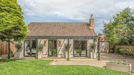 Deerfield is a three-bedroom bungalow on the market with Sowerbys for £650,000. Picture: Sowerbys