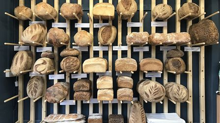 Bread Source is known for its beautiful displays. Picture: Ella Wilkinson