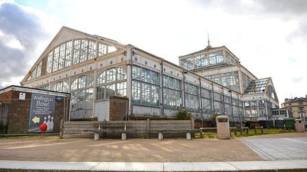 The Winter Gardens on Marine Parade in Great Yarmouth.March 2014.Picture: James Bass