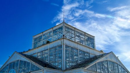 The beautiful Winter Gardens in Great Yarmouth.