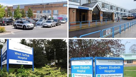 The amount of money Norfolk and Suffolk hospitals as well as mental health and ambulance trusts had