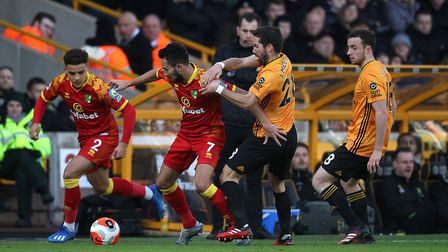Action from the match between Norwich and Wolves. Picture: Paul Chesterton/Focus Images Ltd