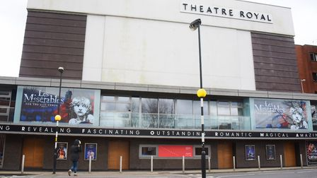 The Theatre Royal at Norwich. Picture: DENISE BRADLEY