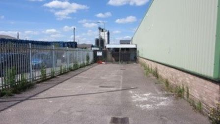 A vacant warehouse with office and storage space on Commercial Road in Lowestoft is set to be auctio
