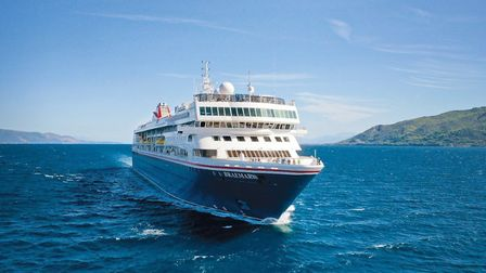 The Fred Olsen cruise liner the Braemar, which is heading for Cuba from where passengers hope to be