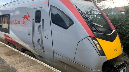 Greater Anglia services have been disrupted between Lowestoft and Oulton Broad North. Picture: Stuar
