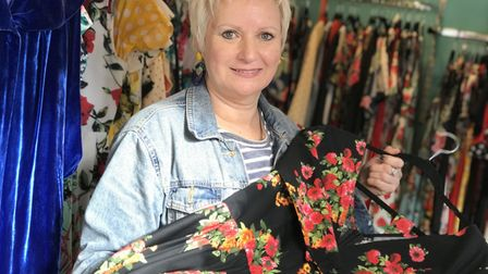 Caryn Louis, owner of The Other Curator on Norwich market. Picture: Neil Didsbury