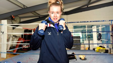 Charley Davison is aiming to secure a place in the 2020 Olympics. Picture: Mick Howes