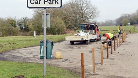 Plans to concrete over the Neatherd Moor will greatly increase parking at the beauty spot. Picture: