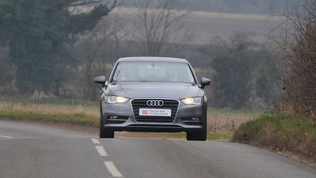 Robert Stevens was caught doing 108mph in an Audi A on the A47 at Swaffham PHOTO: SIMON FINLAY