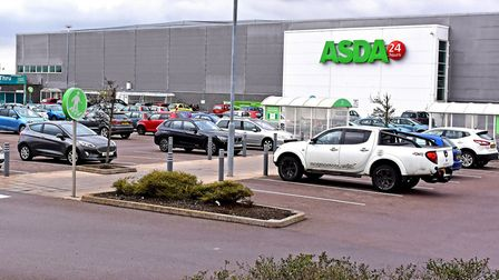 ASDA, in Lowestoft. PHOTO: Mick Howes