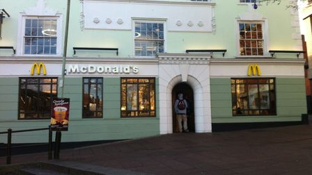 The McDonalds restaurant in Haymarket which, like those in the rest of the UK and Ireland, will see