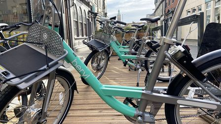Beryl Bikes have joined forces with Transport for Norwich and the council to bring 300 bikes to Norf