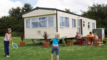 Parkdean Resorts is shut, but people with a holiday home can still visit. Picture: Parkdean Resorts.