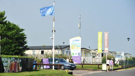 Haven Seashore Holiday Park has closed to the public. PHOTO: Nick Butcher