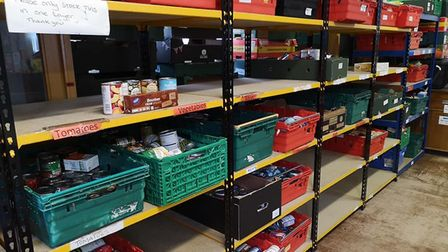 Food banks are in desperate need of donations amid the coronavirus outbreak. Photo: Thetford Foodban
