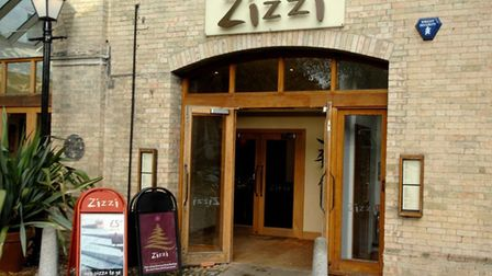 Zizzi, which has now cancelled all services including its takeaway and delivery. Pic: Archant