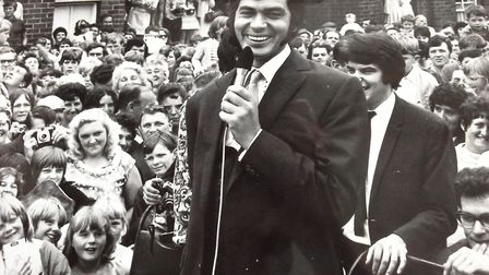 It?s none other than the great Engelbert Humperdinck opening the Northgate Hospital fete in Great Ya