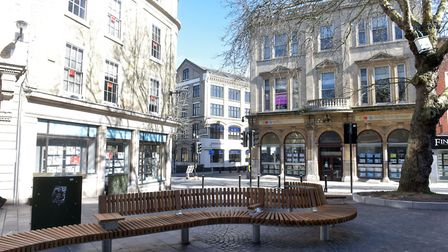 March 22nd 2020 Mother's Day. City is empty due to coronavirus warnings. Pictures: BRITTANY WOODMAN