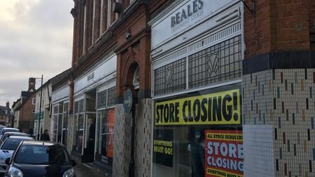 Beales in Beccles. Picture: Reece Hanson