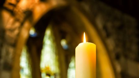 The Bishop of Norwich has suggested we all light a candle in our windows at 7pm on Sunday