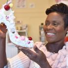 Emily Jupp of Milly J Shoes in her new shop in Tombland, Norwich. Picture: Sonya Duncan