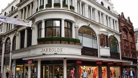 Jarrold is doing its bit for customers setting up a pop-up corner shop selling loo roll and other ba