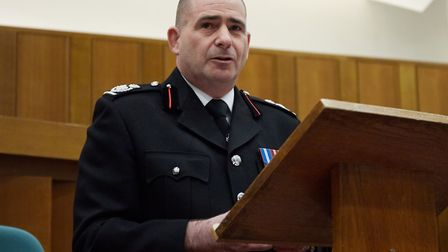 Stuart Ruff, Norfolk Fire and Rescue Service's chief fire officer. Pic: Norfolk County Council.